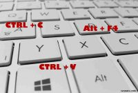 Daftar Keyboard Shortcut (Jalan Pintas ) Windows 10